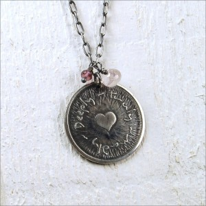 Silver Personalised Truly Madly Deeply Necklace