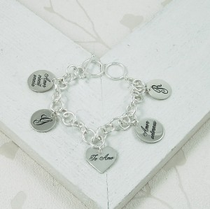 Handmade Personalised Latin Love Bracelet 3