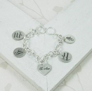 Handmade Personalised Latin Love Bracelet 3