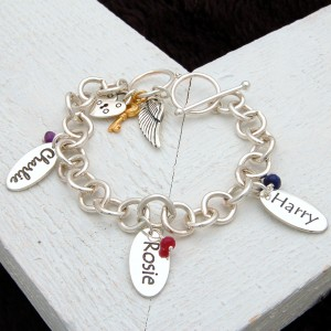 Personalised Chunky Chain Bracelet 2