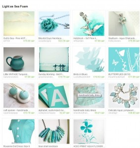 Sea Foam Etsy Treasury